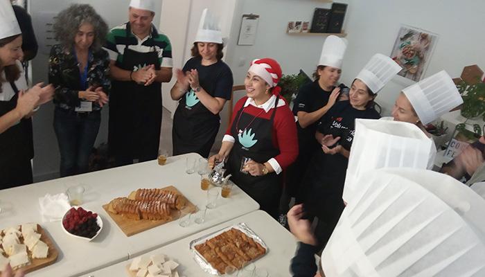 Taller de cocina para mujeres refugiadas