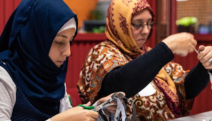 8-M: mujeres, trabajadoras … y además, refugiadas