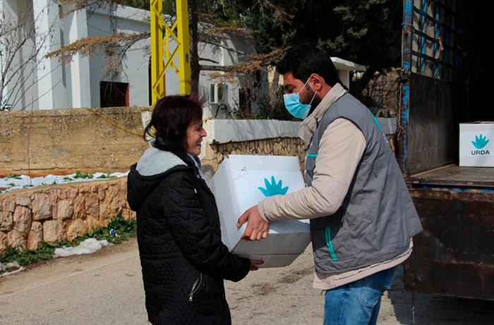 Ayuda en libano
