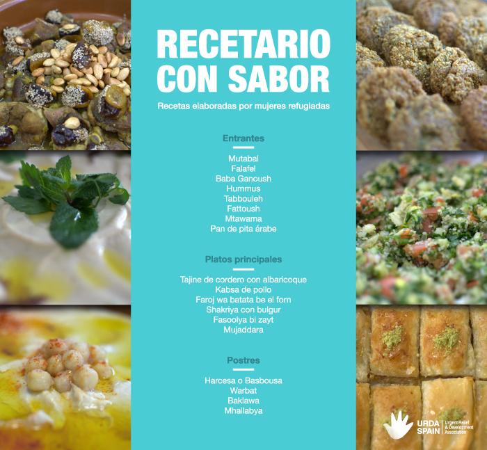 recetario con sabor